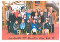 Photo de classe Maternelle et CP