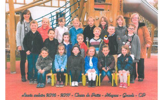 Photo de classe Marternelle et CP