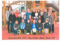 Photo de classe Maternelles et CP