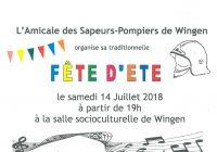 FETE D'ETE DES SAPEURS-POMPIERS